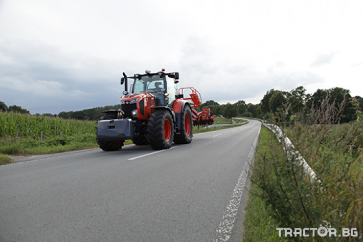 Трактори Kubota M 7 4 - Трактор БГ
